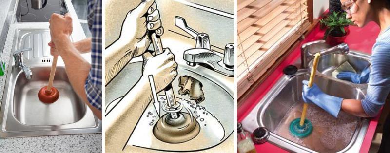 Как эффективно прочистить засор в раковине на кухне